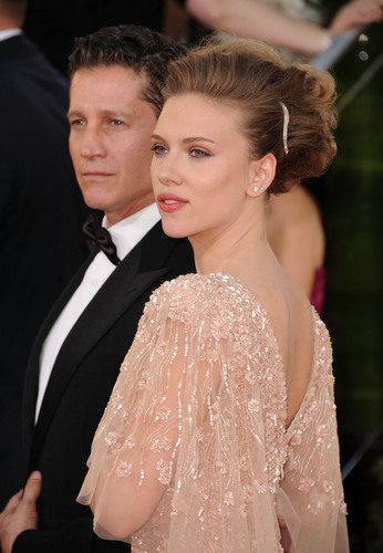 Scarlett @ 68th Annual Golden Globe Awards
