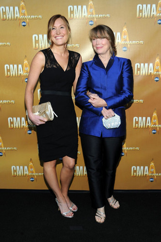Schuyler & Sissy Spacek @ 44th Annual CMA Awards - 2010