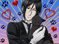 Sebastian likes cat