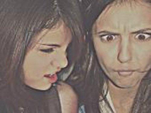 Selena Gomez & Nina (: