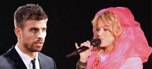 Shakira and Pique finded making out. - shakira Photo