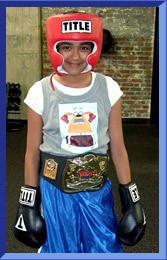 Shreya on Boxing Challenge