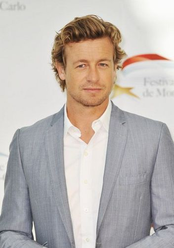 साइमन बेकर वॉलपेपर containing a business suit, a suit, and a three piece suit called Simon Baker / 50th Monte Carlo TV Festival