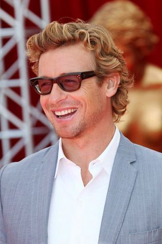 Simon Baker wallpaper with a business suit and a suit titled Simon Baker / 50th Monte Carlo TV Festival