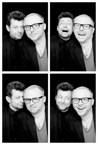 Simon Pegg & Andy Serkis