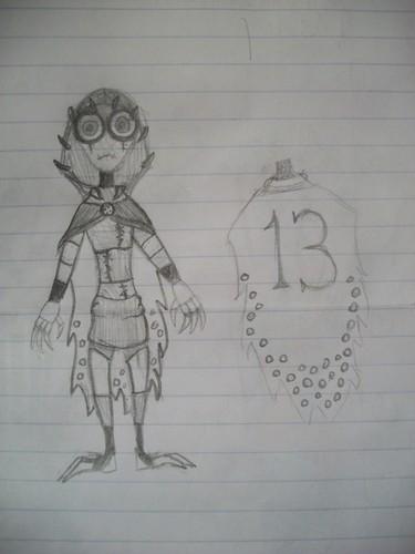 Sketch of my OC, 13