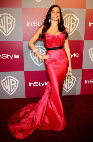 Sofia Vergara - 2011 InStyle/Warner Brothers Golden Globes Party - Arrivals