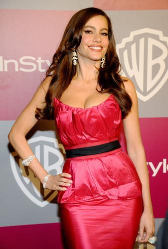 Sofia Vergara - 2011 InStyle/Warner Brothers Golden Globes Party - Arrivals
