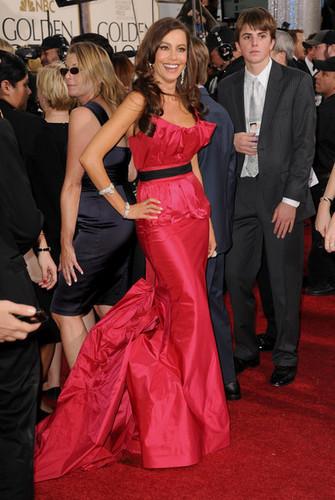 Sofia Vergara - 68th Annual Golden Globe Awards - Arrivals