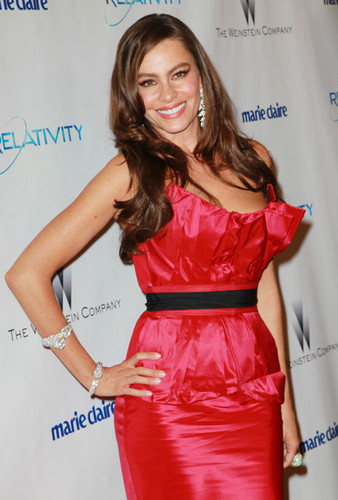 Sofia Vergara - The Weinstein Company & Relativity Media's 2011 Golden Globe Awards Party - Arrivals