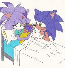 Sonic and Blaze have a baby