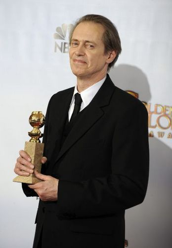 Steve Buscemi at Golden Globes