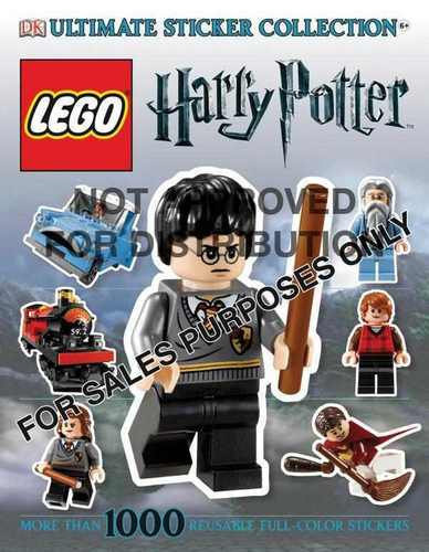 Sticker Book Lego Harry Potter