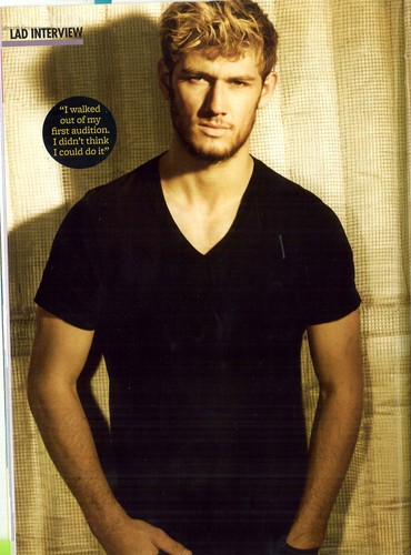Alex Pettyfer wallpaper titled Sugar LadMag