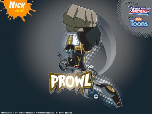 TFA Wallpaper: Prowl