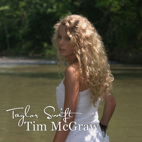 Taylor rapide, swift - Tim McGraw [My FanMade Single Cover]