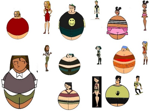 Total Drama Island hình nền entitled Tdi Fat Cast