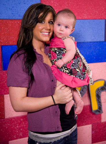 Teen Mom Chelsea And her Daughter Aubree