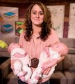 Teen Mom Leah And Her Twin Daughters Aliannah And Aleeah