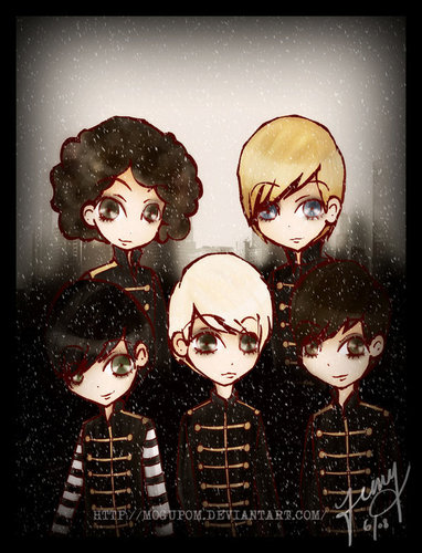 My Chemical Romance Kertas Dinding Possibly With Anime Called The Black Parade