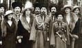 The Romanov Family in Traditional Russian Uniform
