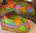 Tie Dye Cheesecake, Baby! - bright-colors fan art