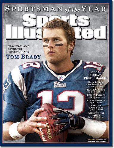 Tom Brady Magazine Cover