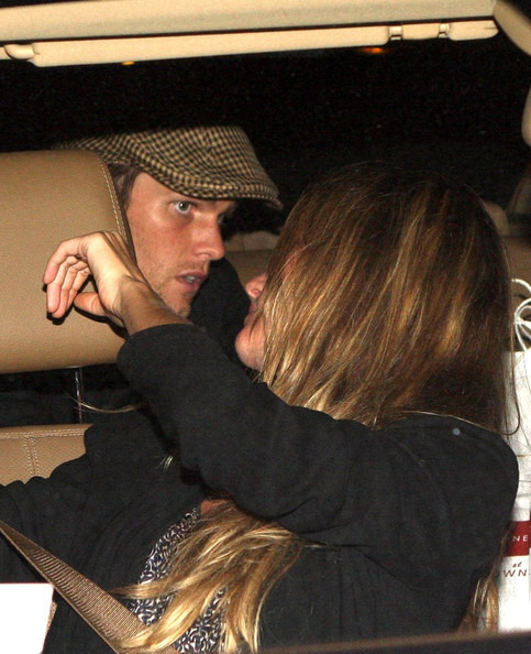 Tom Brady and Gisele Bundchen on a Dinner Date-September 15, 2010