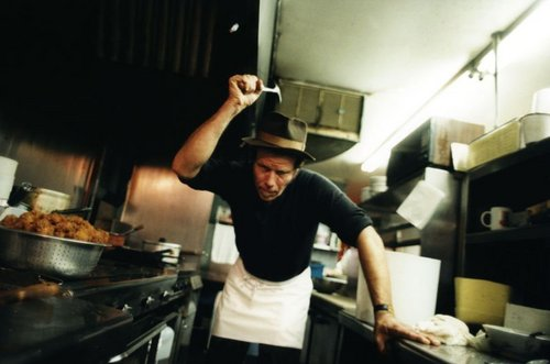 Tom Waits cooks - tom-waits Photo