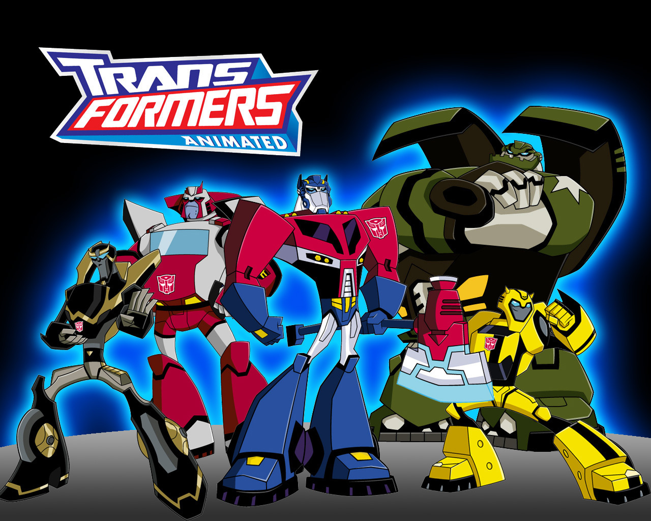 Transformers animated series transformers animated wallpapaer