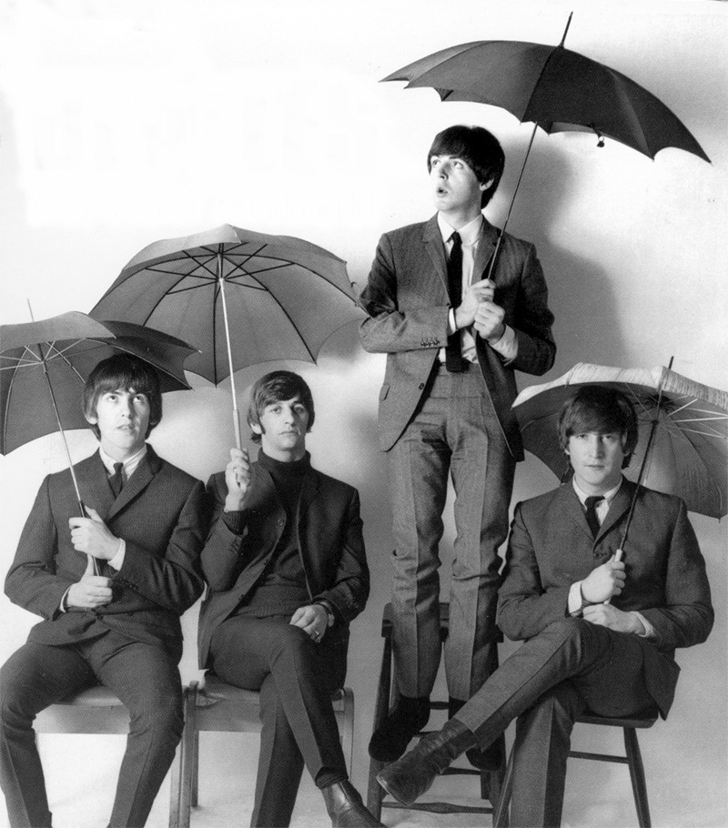 Umbrellas - The Beatles Photo (18591299) - Fanpop