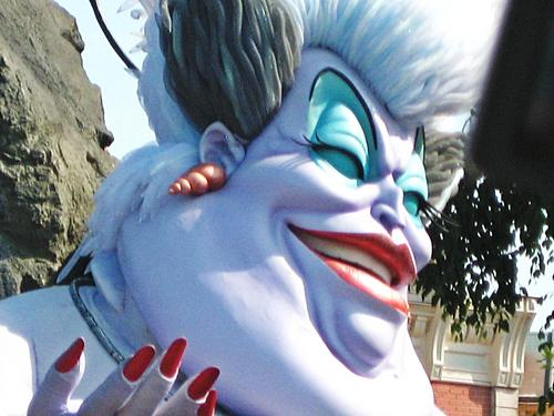 Ursula @ DisneyLand, Paris