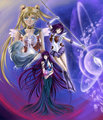 Usagi, Hotaru and Mistress 9