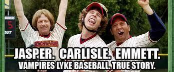 vampiros play baseball