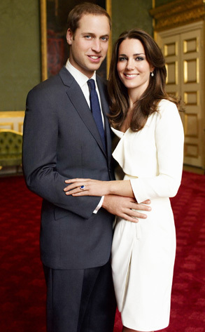 Prince William and Kate Middleton wallpaper containing a business suit, a suit, and a two piece entitled William and Kate