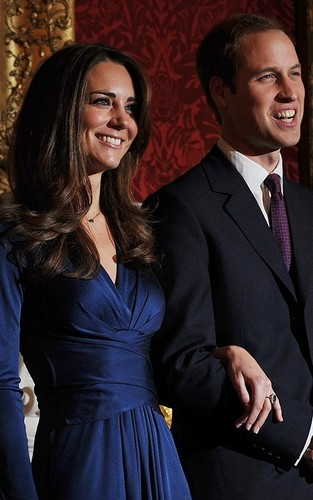 Prince William and Kate Middleton wallpaper with a business suit titled William and Kate