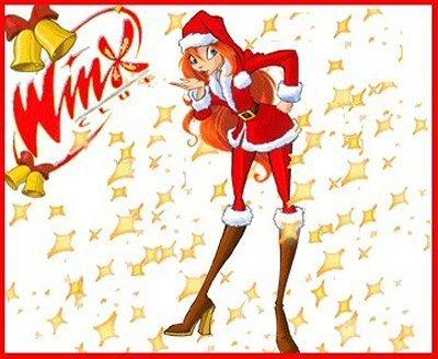 Картинки винкс новый год, рождество 2012