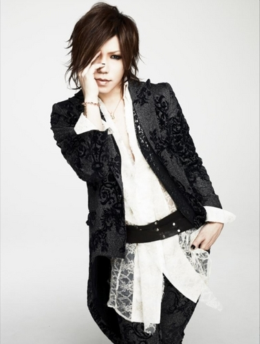 The Gazette achtergrond possibly with a well dressed person entitled aoi