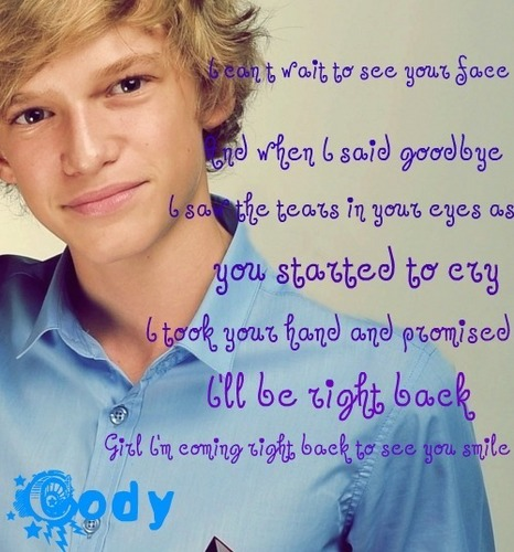 Cody Simpson wallpaper with a portrait entitled cody