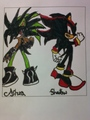 cover storie... - shadow-the-hedgehog photo