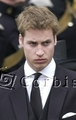 queen mother funeral - prince-william photo