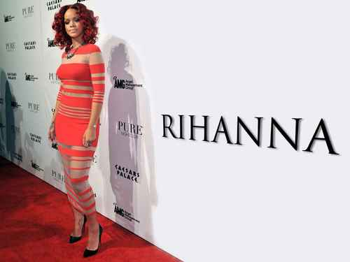 Rihanna wallpaper possibly with a sign entitled riri