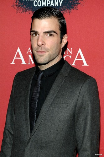 "Zachary Quinto wallpaper containing a business suit, a suit, and a well dressed person called ""Angels In America: A Gay Fantasia On National Themes"" Opening Night Party"