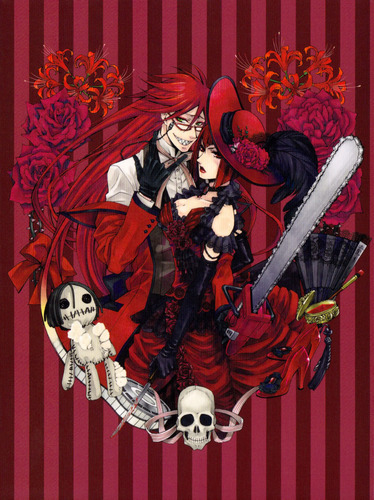 ♥Grell and Madam Red♥