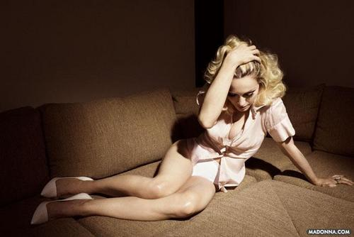 "Madonna fond d'écran with skin called -Madonna- 2008 ""Elle"" Photoshoot"