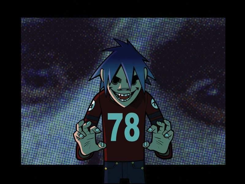 Murdoc Gorillaz Demon Days 2D - Gorillaz Photo (1...