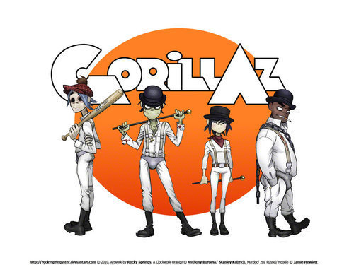 A Clockwork Orange - Gorillaz Fan Art (18677108) - Fanpop