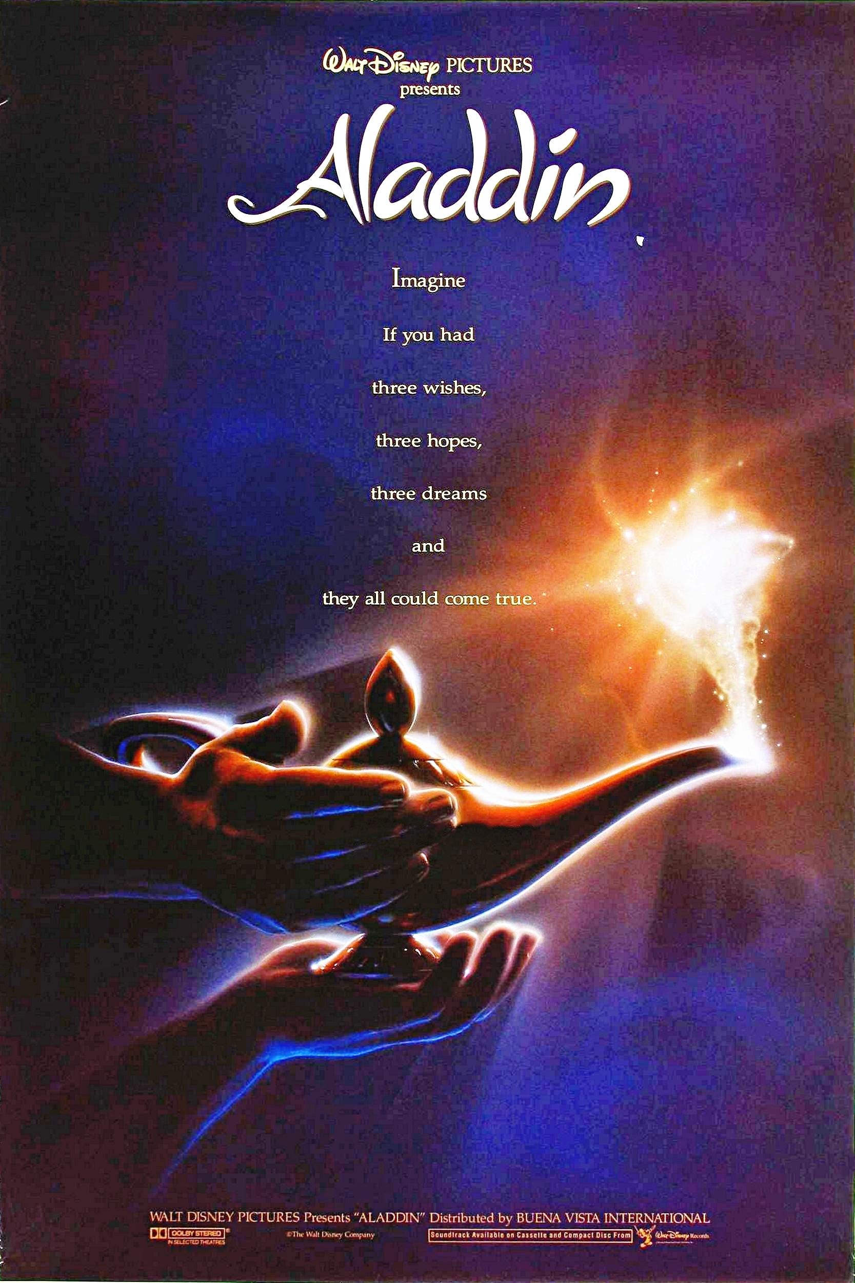 Aladdin và cây đèn thần Poster