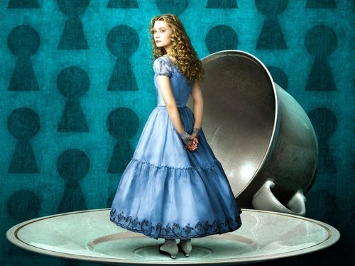 Tim Burton wallpaper entitled Alice in Wonderland wallpaper