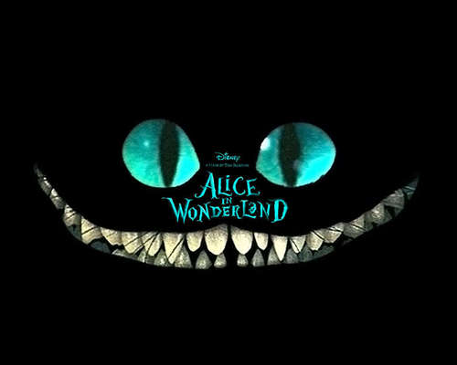 Tim burton kertas dinding called Alice in Wonderland kertas dinding